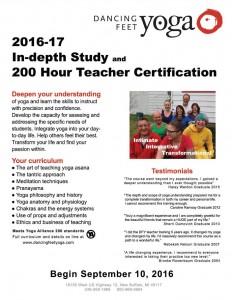 2016 teacher training